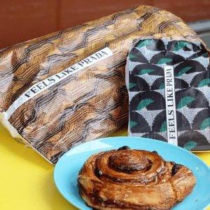 €3就能买下两个Prada单品Prada开始卖面包了?!快来巴黎Prada面包房快闪先尝为快
