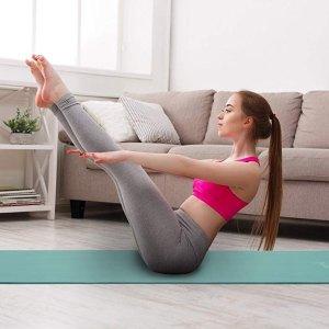 $18.99(原价$29.99)Sivan Health and Fitness 1/2寸 健身瑜伽垫