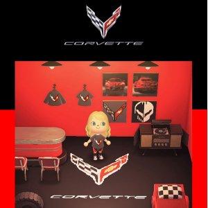 全部免费下载Corvette 科尔维特跑车官方 猛男捡树枝主题