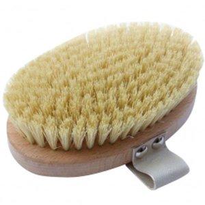 Hydrea London Beech Wood Body Brush With Cactus Fibre Bristles