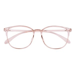 Classic Wayframe Champagne Eyeglasses