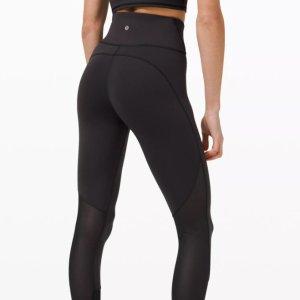 补货:Lululemon官网 Everlux™ 女士爆款黑色Leggings促销