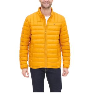 $48.81(原价$107.99)Tommy Hilfiger 轻便羽绒夹克 S码 男女皆宜的春日鹅黄