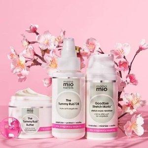 无门槛72折 £32收妊娠纹利器Mio Skincare 英国身体护理专家 给你从头到脚的呵护