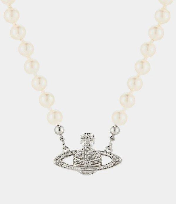 珍珠小土星项链