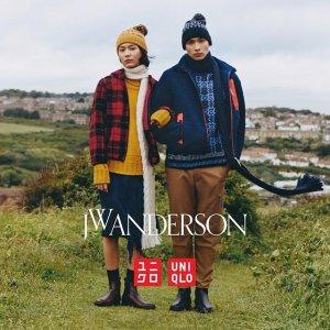 $29.9起+立减$10 轻松享大牌新品上市:JW Anderson X Uniqlo 2019秋冬款抢鲜热卖