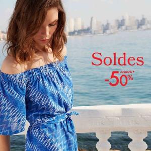低至5折 €25收印花短袖即将截止:Caroll 轻奢美衣热卖 法式浪漫小清新风