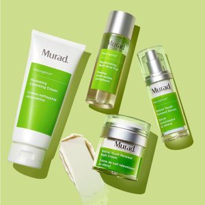 FREE Deluxe Sample + FREE 3-day ShippingMurad Skin Care Sale