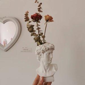 折后仅€6.86 桌上唯美小摆件大卫雕塑摆件 插花/收纳化妆刷 北欧复古 几欧就能买来的艺术感