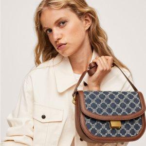 £20收Ava老花平替版Mango 秋冬新款包包超美丽!BV、Celine、Loewe平替腋下包上线