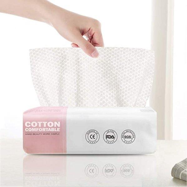 100%纯棉洗脸巾 60张