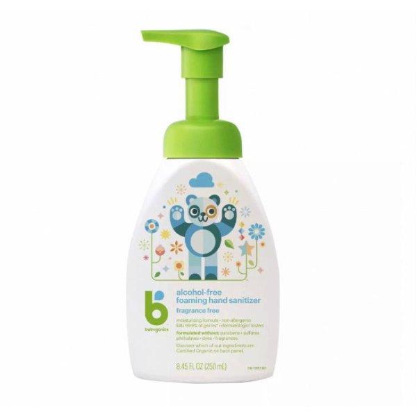 无酒精成分泡沫免洗洗手液 婴儿儿童可用 250ml