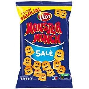 不添加色素 不含防腐剂Vico 小怪物咸饼干 140 g