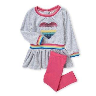 低至1.4折+免邮 上新即将截止:Juicy Couture儿童服饰热卖 做个粉嫩的小公举