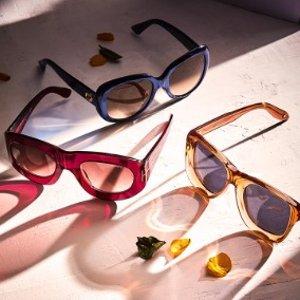 低至2.5折 收爆款Fendi猫眼Rue La La 精选 Fendi、Dior、Gucci 等大牌墨镜闪购