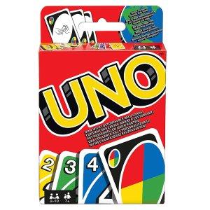 现价£5.87(原价£13.62)UNO 桌游卡牌游戏特惠