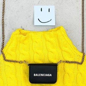 低至5折 Logo T恤$100+起Balenciaga 年终特卖专场,卫衣$425,腰包$537