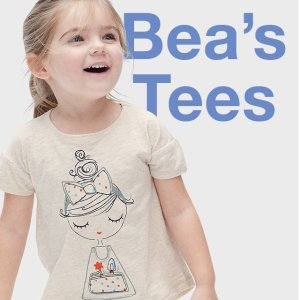 Last Day: 50% Off All Kids T-shirts+ Up to 50% Off Every Single Thing @ Gap