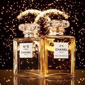 全场8.2折,£26收香奈儿香水喷雾Chanel 香奈儿香水大促,收coco小姐、NO.5号香水、身体乳