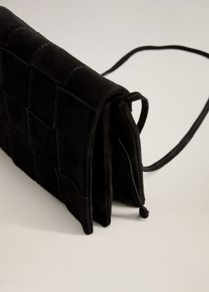 Braided leather bag -  Women | Mango USA
