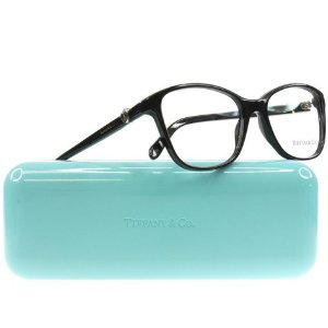 $87.94 ($399.99)Tiffany & Co Women's 2081 Black Rx Ready Eyeglasses Frames - Made in Italy