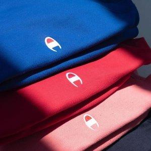 低至5折+Prime会员免邮Champion潮流运动T恤、卫衣、夹克等限时促