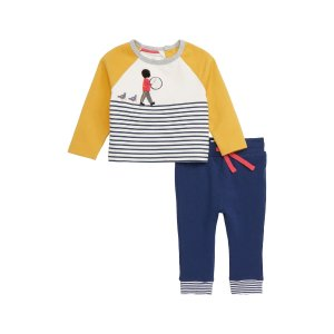 8d9426f63452d Nordstrom offers up to 50% off Mini Boden Sale. Free shipping. Mini  BodenFun Jersey Applique T-Shirt & Pants Set