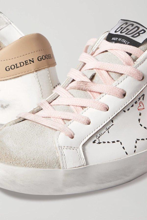 Superstar 爱心脏脏鞋