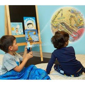 礼品套装5折 史低价Moonlite 儿童故事手机投影仪 光与影交汇的故事时光