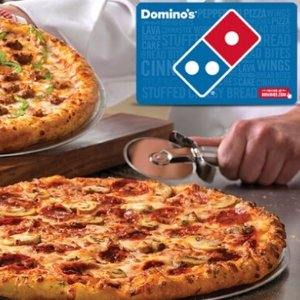 $5for $10 Domino's eGift Card @Groupon
