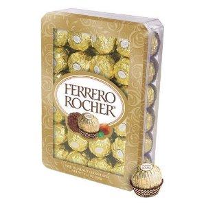 Ferrero Rocher Hazelnut Chocolates (48ct., 21.1 oz.)