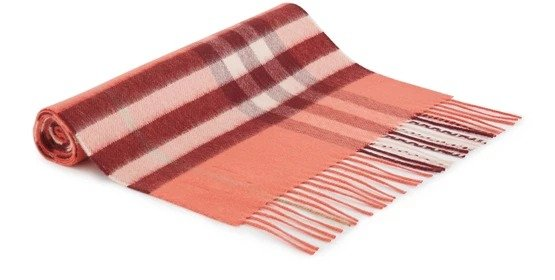 Giant Check 羊绒围巾