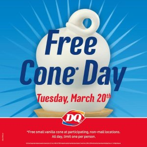Free CornDQ's Celebration of The First Day of Spring