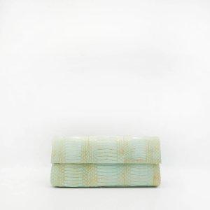 Nancy GonzalezGotham Clutch, Mint Elpahe