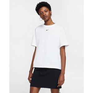 Nike基础款Logo白色短袖