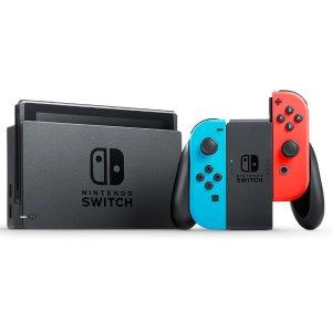 $469 少量现货Nintendo Switch 游戏主机 2019长续航版