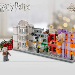 Free Diagon Alley™ Micro BuildWith $99+ Purchase @ LEGO Brand Retail