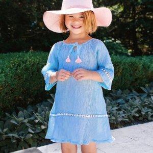 低至5折 儿童夏日泳池趴必须有Floatimini 儿童泳衣、沙滩裙优惠  印花靓丽 薄纱飘逸
