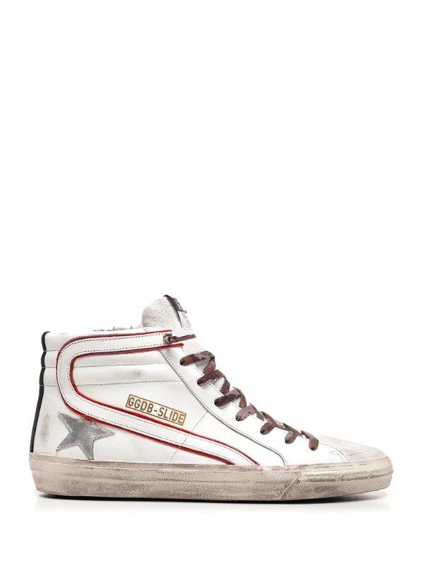Slide高帮脏脏鞋
