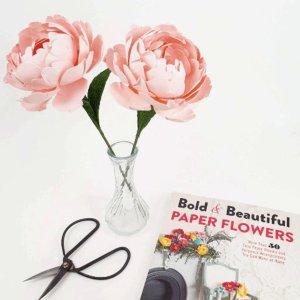 DIY 纸质 芍药花