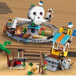 现价 £59.99(原价£69.99)LEGO 乐高 Creator系列 31084 海盗过山车