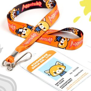 FREEAggretsuko Lanyard with any Aggretsuko item purchase