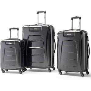 $272.15 (原价 $436.89)新秀丽 Winfield 3 行李箱3件套 旅行路上的灵魂伴侣