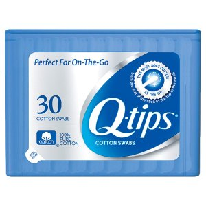 $0.59Q-tips 便携式双头棉花棒 30根 带盒子