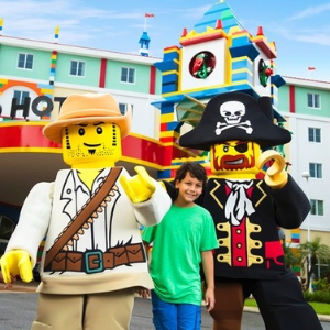 40% Off Your StayLegoland Hotels @California & Florida