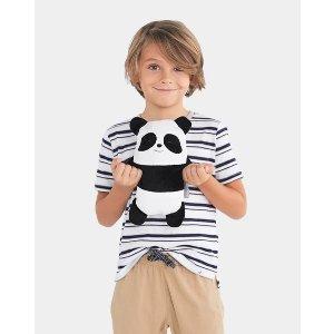 Cubcoats熊猫造型公仔卫衣