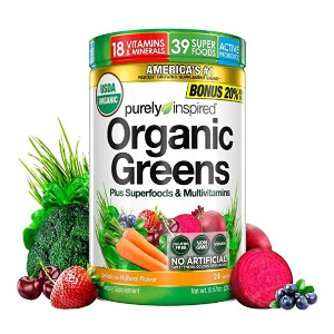 $11.99 Purely Inspired Organic Greens, USDA Organic @ Amazon