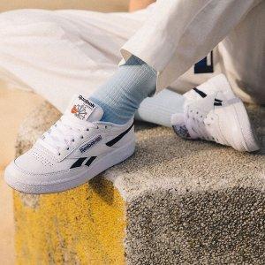 无门槛6折 $60入宋茜同款Reebok官网 经典鞋款特卖会 Royal小白鞋$45白菜价