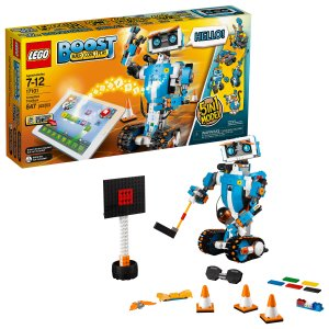 LegoBOOST 创新机器人 17101 编程STEM玩具