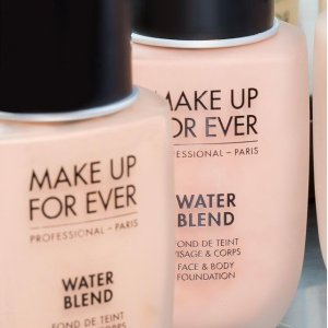 Make Up For Ever 水粉霜热卖 水感轻薄 防水持久